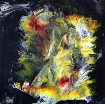 D3 25 x 25 cm acrylique